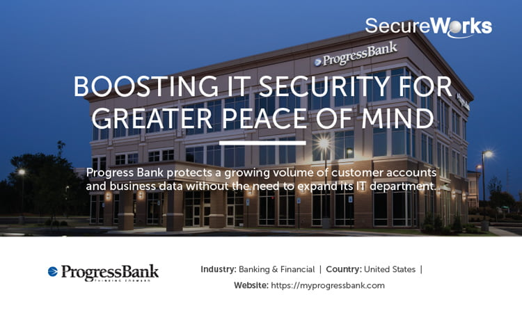 Case Study: Bank Boosts IT Security Services with SecureWorks MSSP