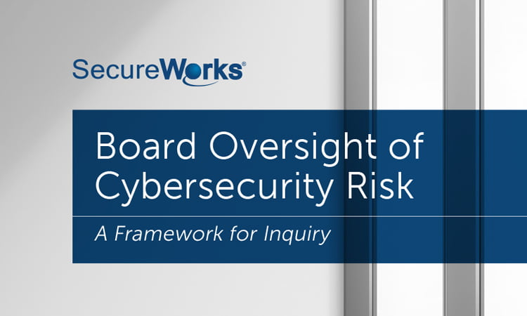 Cyber security risks and the board of directors